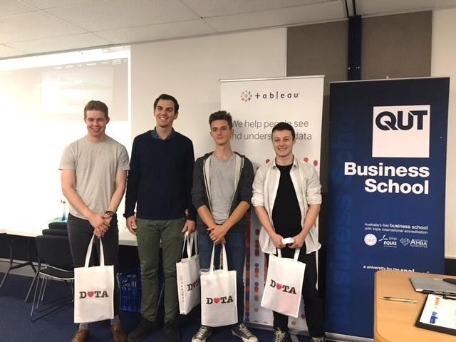 Tableau data story telling day for QUT students report